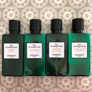 HERMÈS Travel Size Bath Kit 4-Piece